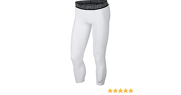 Amazon.com: Nike Men's Pro Hypercool Tights White/Black Size XX-Large: Clothing