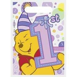 Pooh's 1st Birthday Girl Treat Sacks ()