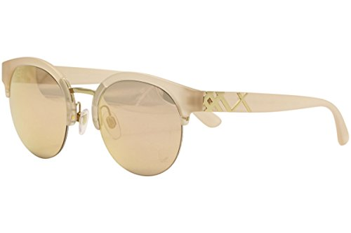 Burberry Women's 0BE4241 Matte Pink/Gold Mirror Orange One Size by BURBERRY