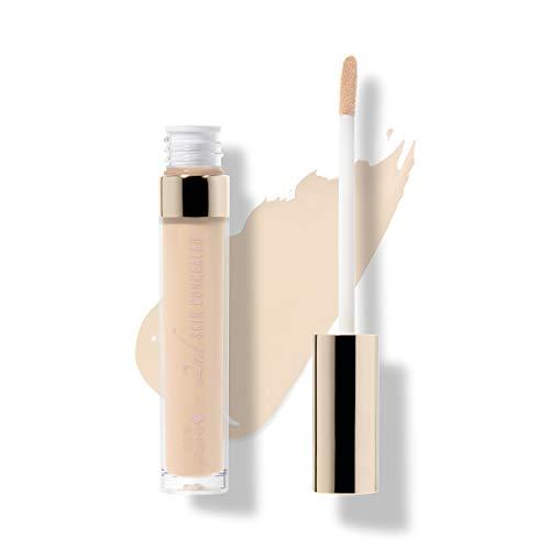 100% PURE 2nd Skin Concealer (Fruit Pigmented), Shade 2, Full Coverage, Lightweight, Liquid Concealer for Face, Under Eyes, Vegan Makeup (For Light-Medium Skin w/Neutral Undertones) - 0.17 Fl Oz