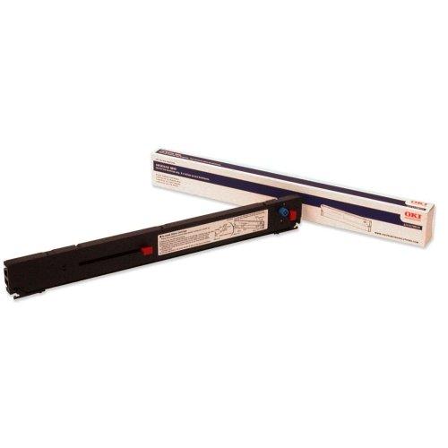 41708210 Ribbon - Wholesale CASE of 5 - Oki Data 41708210 Ribbon Cartridge-Matrix Nylon Ribbon, for Microline 8810, Black
