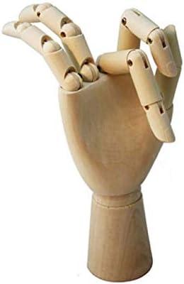 Wooden Hand Body Artist Model Jointed Articulated Wood Sculpture Sketch Manikin