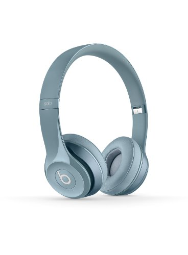 Beats by Dre Solo 2.0 On-Ear Wired Headphones (Silver)