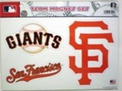MLB San Francisco Giants Team Magnet Set
