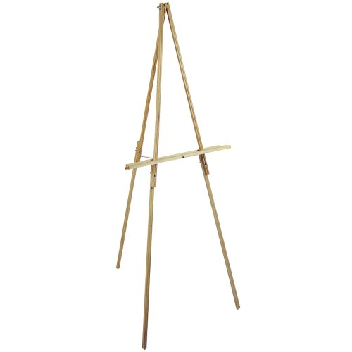 Loew-Cornell 65-Inch Natural Wood Floor Easel (Assembly Natural)