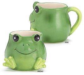 Smiley Frog 17 Ounce Ceramic Mug