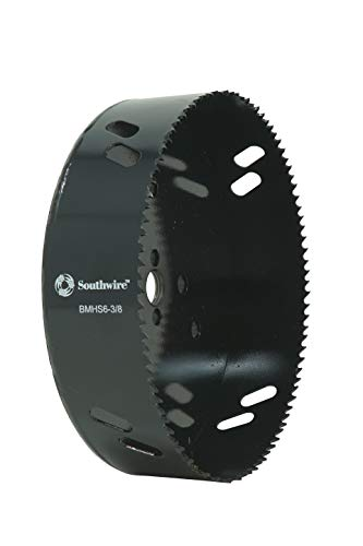 Southwire Tools & Equipment BMHS6-3/8 Bi-Metal Hole Saw, 6-3/8