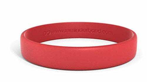 Cardinals Red Laser - Classic Custom Silicone Wristband/Personalized Silicone Bracelet/Rubber Bracelet (Cardinal Red, Medium)