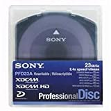 Sony PFD23A/2 Single Layer 23GB Rewritable Optical Disc for XDCAM, 85 minutes