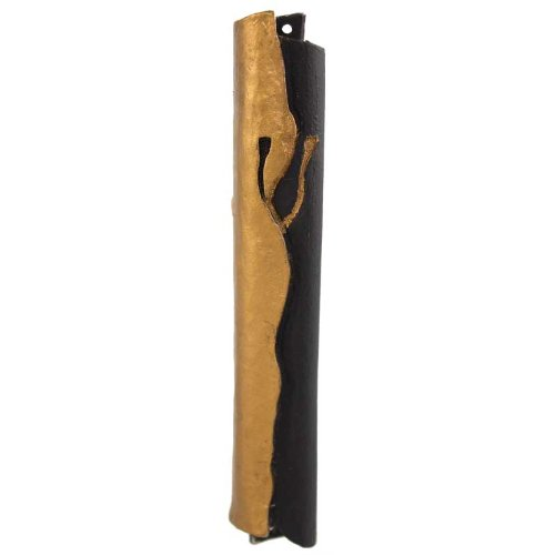Majestic Mezuzah cover by Quest - Two Tone