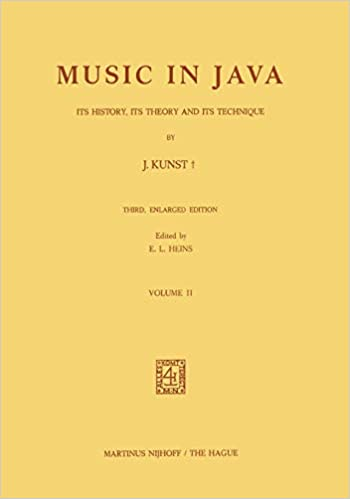 Music in Java: Its History, Its Theory and Its Technique