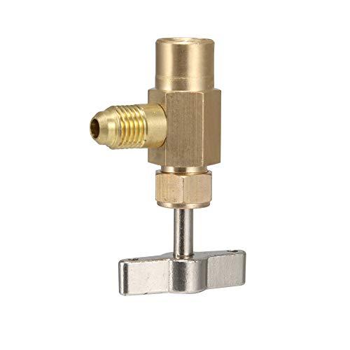 Debuy Car Refrigerant Tap R-134 AC Thread Valve Tool Tapper Opener Connector Can Dispensing