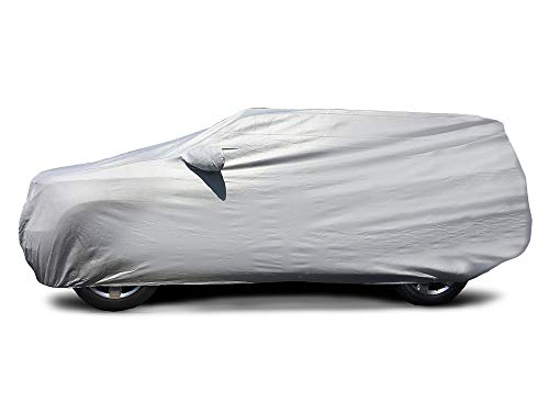 CarsCover Custom Fit 2016-2019 Honda Pilot SUV Car Cover Heavy Duty All Weatherproof Ultrashield Covers