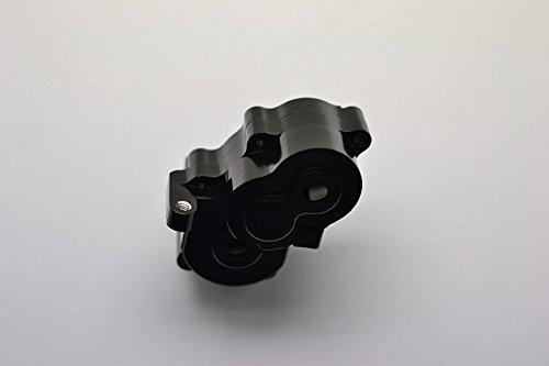 Gear Differential Case - Traxxas 1/16 Mini E-Revo, Mini Slash, Mini Summit Upgrade Parts Aluminum Center Gear Differential Case - 1Set Black