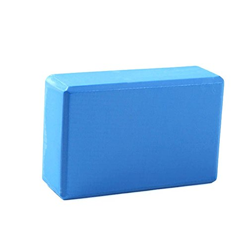 Adealink Yoga Block Stretching Exercise Pilates EVA Brick Workout Aid Body Shaping Training Suitable For Home/Gym Sports Fitness