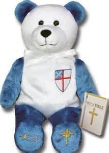 Holy Bears, Episcopal Bear, Holy Bible Bear, Stuffed Animal. 8