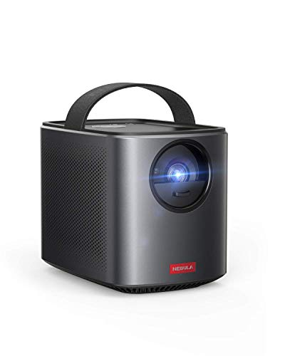 Nebula by Anker Mars II Pro 500 ANSI Lumen Portable Projector, Black, 720p Image, Video Projector, 30 to 150 Inch Image TV Projector, Movie Projector (Renewed)