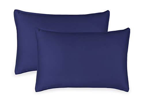 Cobalt Blue Bamboo - Pure Bamboo 2pc King Pillowcase Set - 100% Bamboo Luxuriously Soft Bedding (2 King Pillowcases, Cobalt Blue)