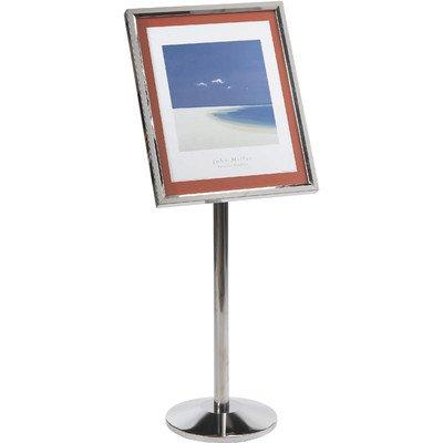 Single Pedestal Broadcaster Base and Frame Color: - Pedestal Single Aarco