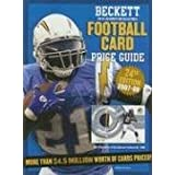 Beckett Football Card Price Guide: Number 24