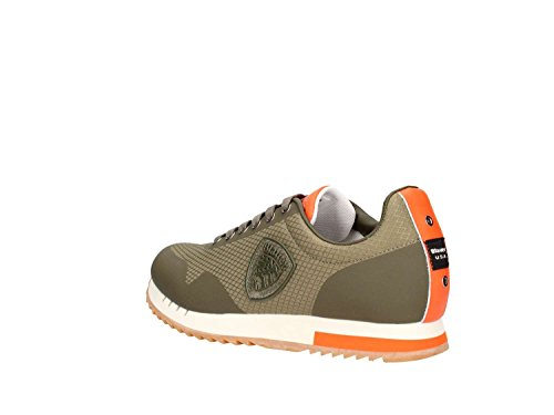 Blauer 8sdetroit04 Homme Military Green Usa Sneakers mes AAqUwr