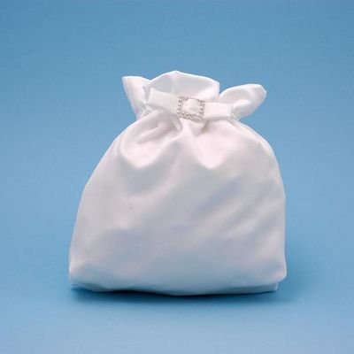 - Beverly Clark Wedding Supllies 51E Glamour Bridal Purse in White