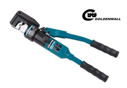 CGOLDENWALL  16~300mm²手動油圧ハイドロプライヤー ケーブル銅アルミ端子の圧着に ダイス11種付油圧圧着工具 ★350度回転機能★【一年安心保証】 B07C2KJ461
