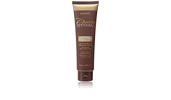 Amazon.com: Chocolat Special Antifrizz Therma Active Chocolate - Cocoa Butter and Brazil Nut by Nunaat: Beauty