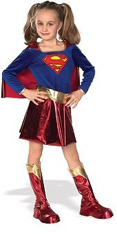 [Deluxe Supergirl Costume - Small] (Supergirl Costume Size 22)