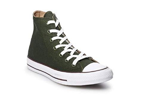 Converse High Top Star Teak 2018 All Utility Women's Green Sneaker White Seasonal Chuck Taylor B80rBqf