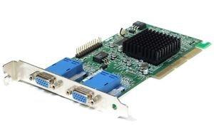 (MATROX 09N9237 16MB AGP VIDEO CARD WITH DUAL VGA OUTPUTS)