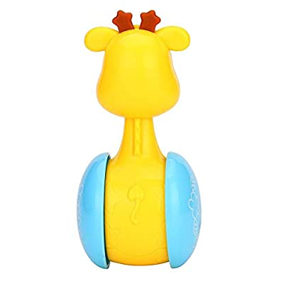 Dolls, Deer Little Star Tumbler Bell Educational Toy for Baby, Tumbler Rattle: Arts, Crafts & Sewing