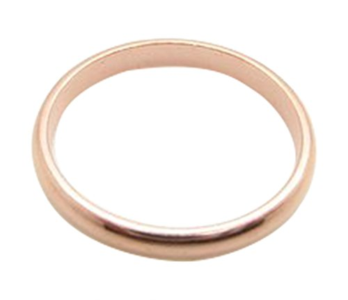 Solid Copper Ring #CR040T- 1/16 of an inch - Available in sizes 4 thru 10. Our thinnest design. - Ring Design Copper