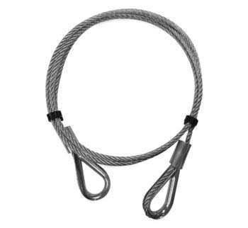 KFI Products Manual Plow Lift Cable Replacement Part for KFI Manual Lift 105015 105173-R
