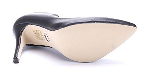 Schuhtempel24 Damen Schuhe Klassische Pumps Stiletto 10 cm High Heels Schwarz