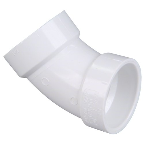 C4806 2 HXH 45 ELBOW PVC