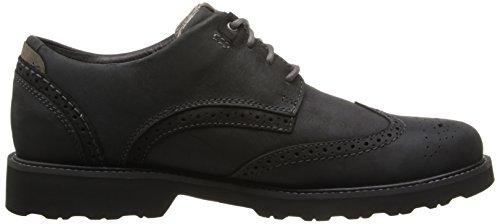 Dunham Hombres Revdare Oxford Shoe Black