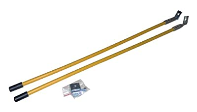Meyer Yellow Blade Guide Sticks, Pair With Mounting Hardware