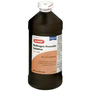 PH2369429 - Leader Hydrogen Peroxide 3% Solution, 8 -