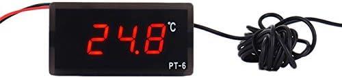 40-110 Degr/és Celsius Int/égr/é Thermom/ètre De Refroidisseur De Tension De Haute Pr/écision Thermom/ètre /électronique Num/érique Noblik Pt-6 12V