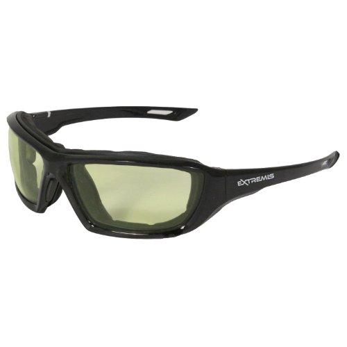 Radians XT1-LIRAF Extremis Full Black Frame Safety Glasses with Low IR Anti-Fog - Radians Sunglasses