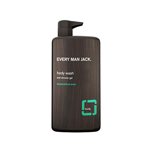 (Every Man Jack Body Wash, Eucalyptus Mint, 33.8-ounce )