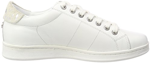 B35 Leather Femme Baskets Blanc Monochrome Maruti Nena white wFx011