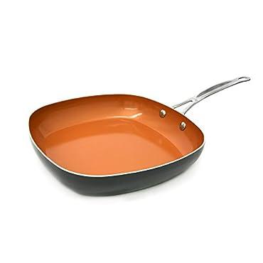 Gotham Steel Shallow Square Pan, Brownish