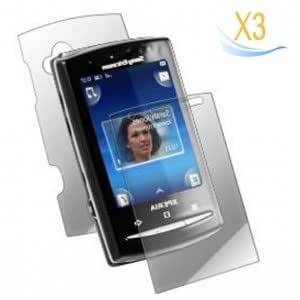 3Pcs Screen Protector for Sony Ericsson Xperia X10 Mini
