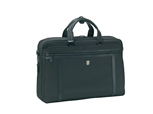 Victorinox 15 Ltrs Black Softsided Briefcase (604988)