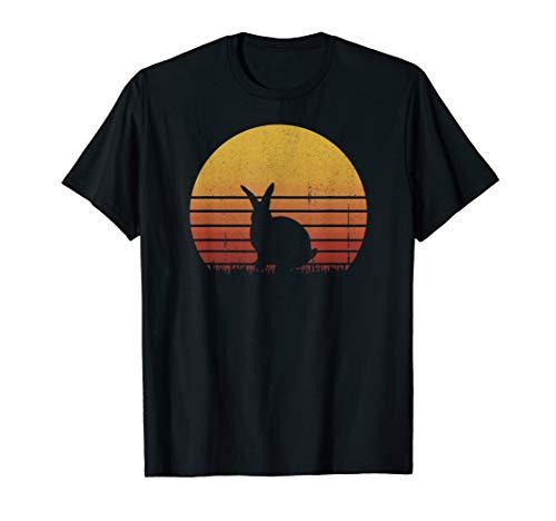Retro Vintage Bunny Animal Lover Cute Funny Gift T-Shirt]()