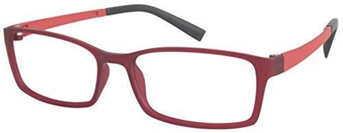 Aristar by Charmant Eyeglasses AR16404 AR/16404 517 Burgundy Optical Frame 51mm