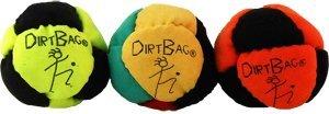 DirtBag Classic Footbag 3 pack Orange/Black Combo