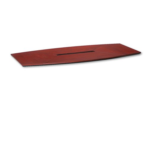 Tiffany Industries CT96CRY Corsica 96 by 42-Inch Boat Shape Conference Table Top, Sierra Cherry by Tiffany & Co.